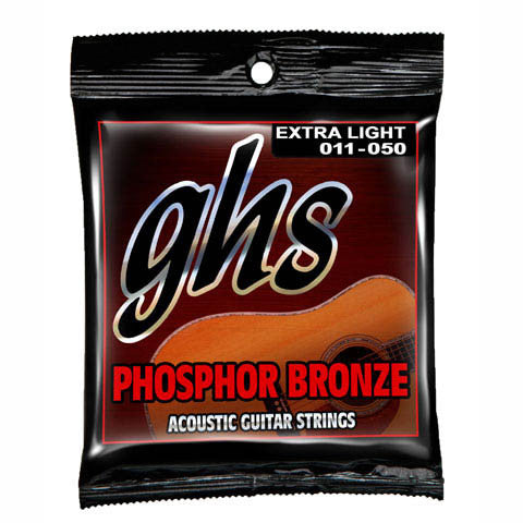 GHS Phosphorus Bronze  XL  Acoustic Strings  11-50