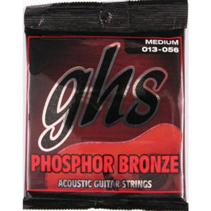 GHS Phosphor Bronze Med 13-56 Acoustic Guitar Strings