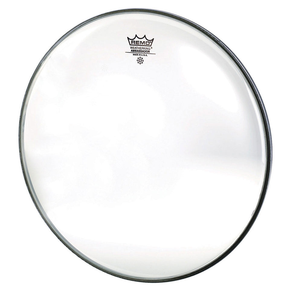 "Remo  6"" Ambassador, Clear Drum Head"
