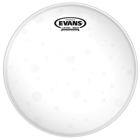 "Evans  8"" Hydraulic Glass Drum Head"