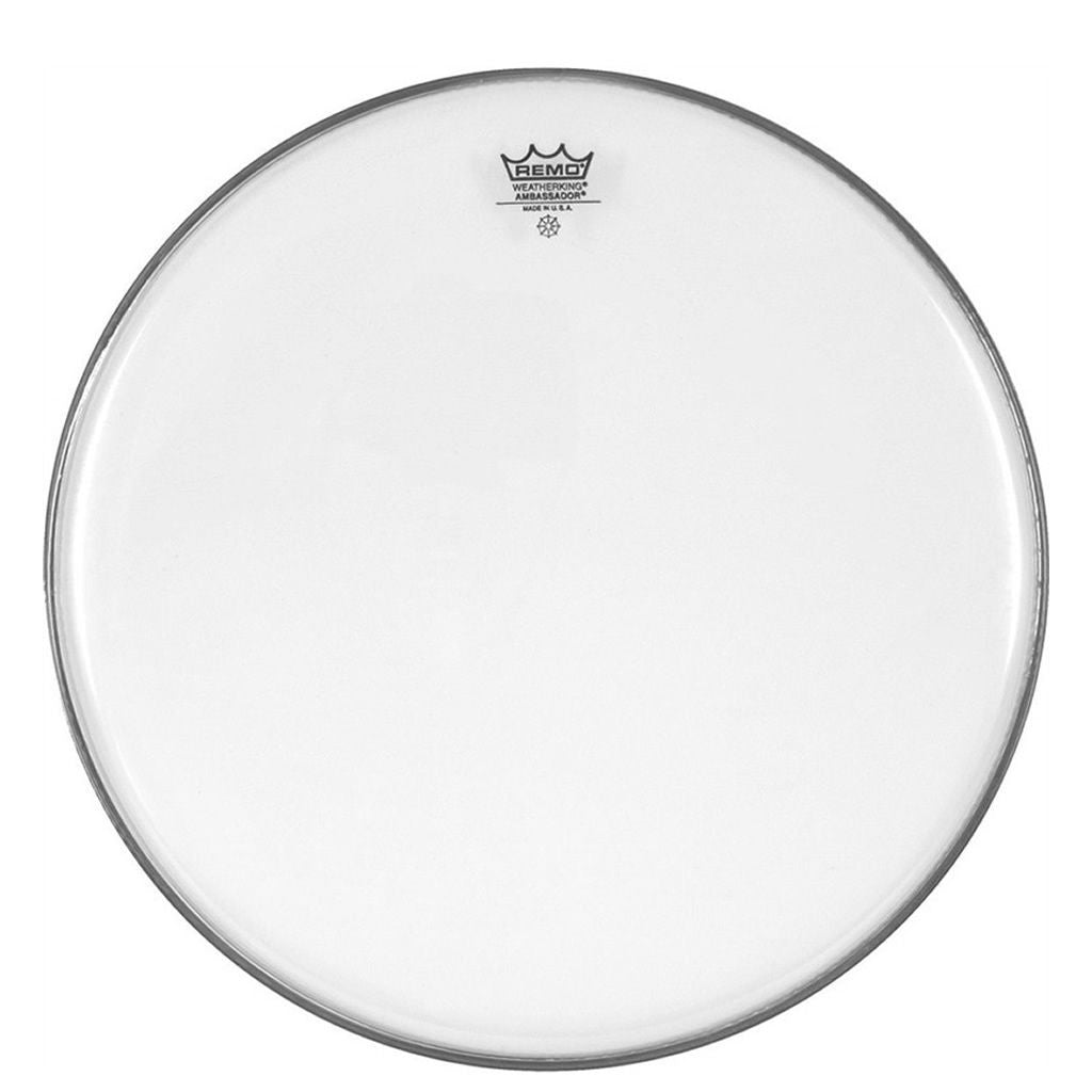 "Remo  8"" Ambassador, Clear Drum Head"