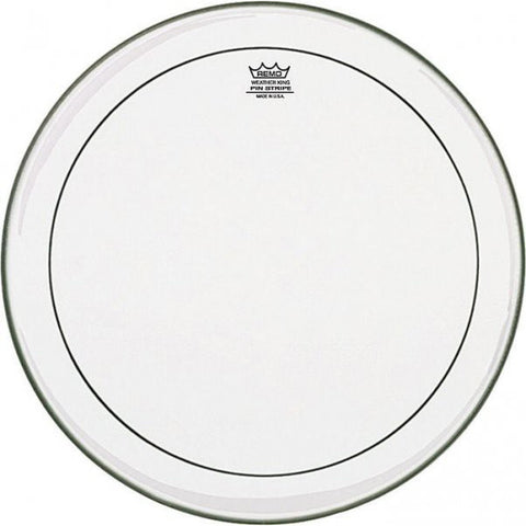 "Remo  8"" Pinstripe, Clear Drum Head"