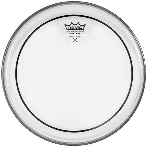 "Remo 10"" Pinstripe, Clear Drum Head"