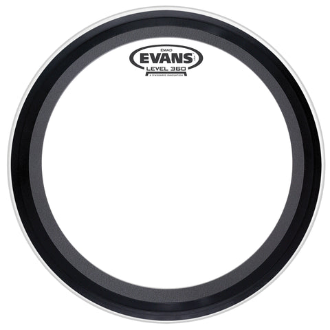 "Evans 20"" EMAD Clear Drum Head"