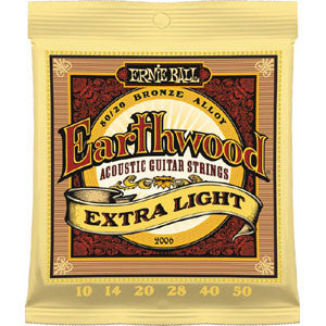Ernie Ball Earthwood Extra Light 10-50 Acoustic Guitar Strings