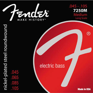 Fender Bass Roundwound 45-105 4 String Bass Strings