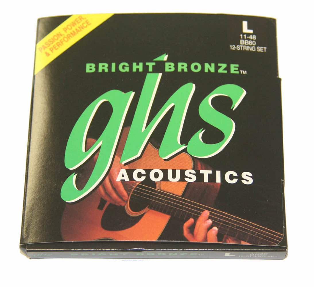 GHS Bright Bronze  12-String Light Acoustic Strings 11-48