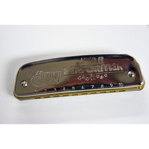 Huang Star Performer Harmonica, Key or C