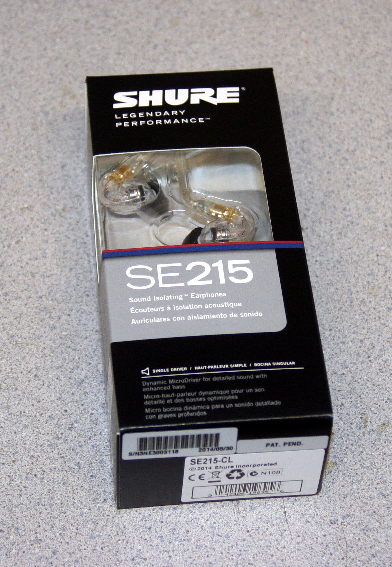 Shure Sound Isolating Ear Buds, New In Box