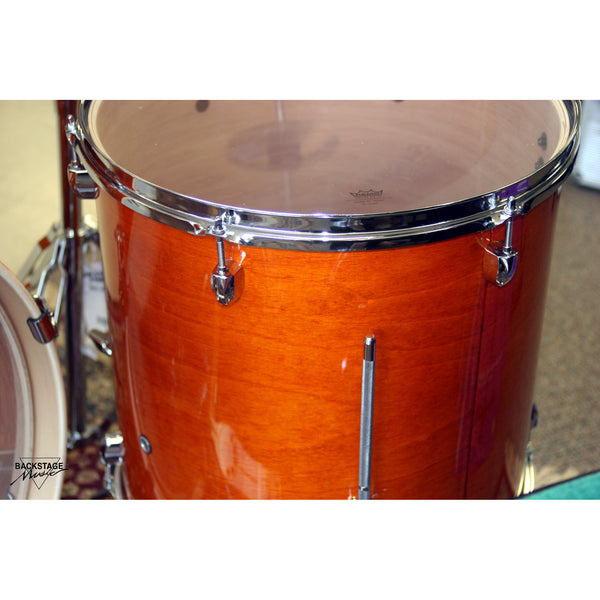 "Pearl Export 22"" Honey Amber Lacquer Finish, 5 Piece Kit, Gorgeous"