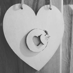wedding rustic heart