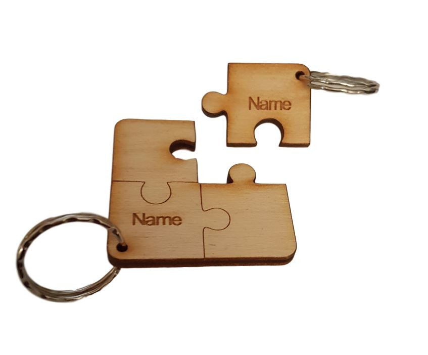 Personalised Keyring Jigsaw