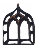 Miniature Windows Gothic Chapel x 4 : Fairy Garden Accessories / Wooden Accessory Dolls House - Designed by Soriska Ltd - 2