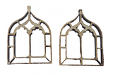 Miniature Windows Gothic Chapel x 4 : Fairy Garden Accessories / Wooden Accessory Dolls House - Designed by Soriska Ltd - 3