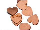 Wooden Love Heart  Shapes - Wedding table decoration / creative decoration idea -  - 1