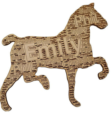 Personalised Gift Horse