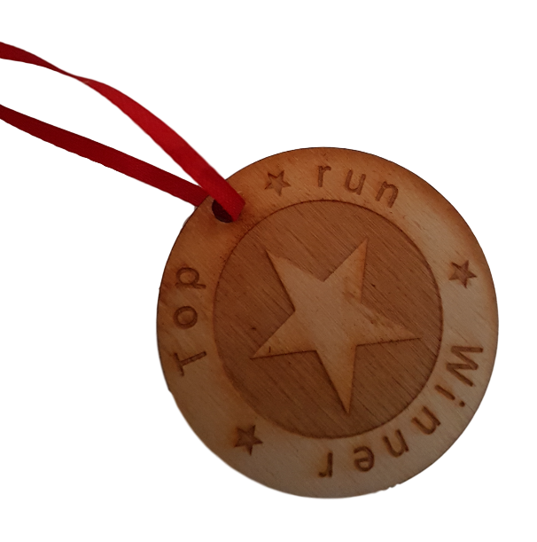 Medals with personalised engraving