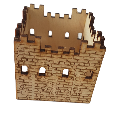Castle Model -suitable for projects about Romans, Castles and the Medieval World