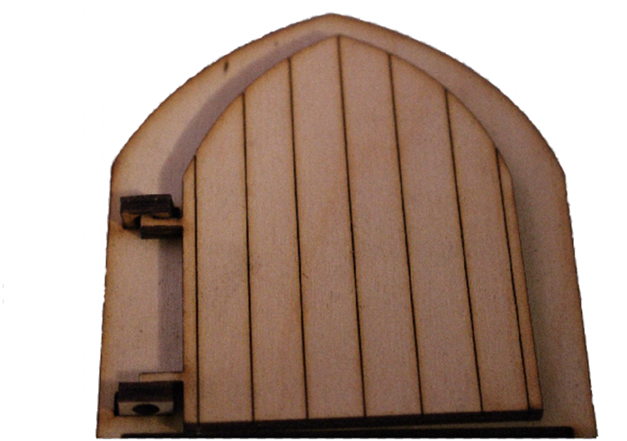 Leave Your Troubles at The  Door :  Original Fairy Door with Engraved Wording - Designed by Soriska Ltd - 1