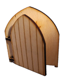 Leave Your Troubles at The  Door :  Original Fairy Door with Engraved Wording - Designed by Soriska Ltd - 2