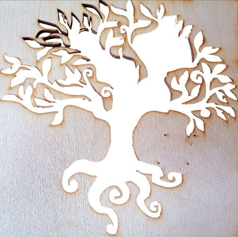 Family Tree Wooden Templates Various Designs