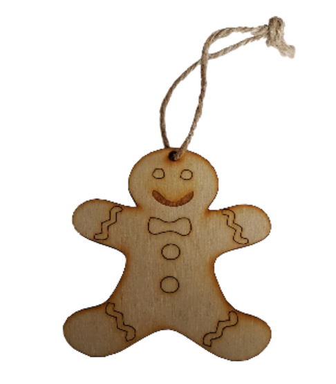 Gingerbread Man Christmas Decoration various sizes