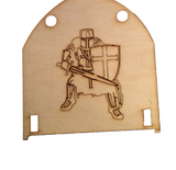 Fairy Door Drawbridge Series - Accessories - Additional Back Drop - Designed by Soriska Ltd - 1