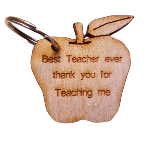 Teachers Gift Personalised Key Ring