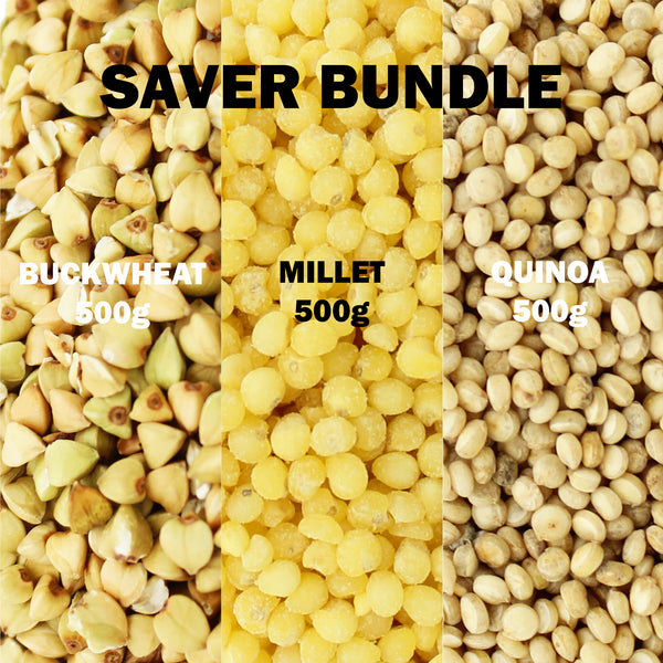 Buckwheat, Millet and Quinoa Multi-Pack