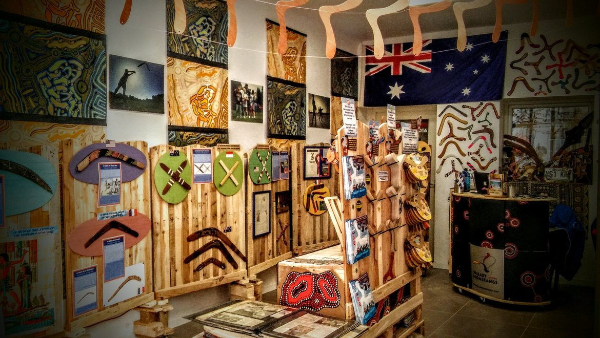 Visitez l'Écomusée Wallaby Boomerangs en 2017|Great opening of the new concept store in 2017