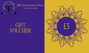 BK's Gymnastics Wear Gift Card