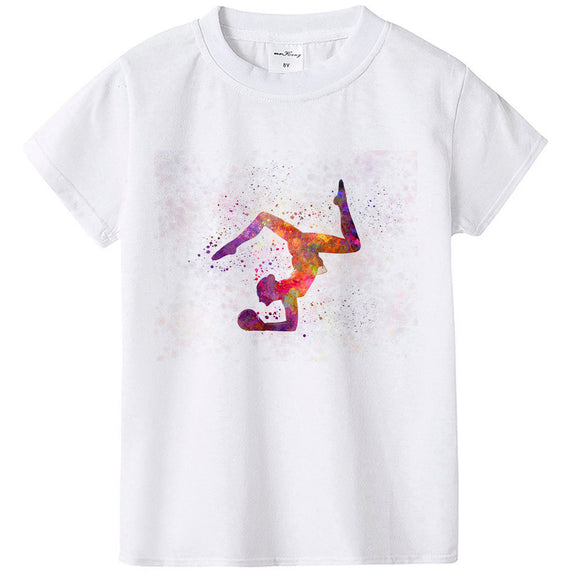 Short Sleeve Gymnastics T shirts