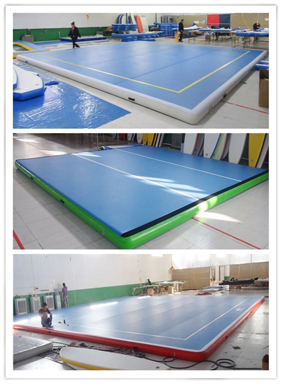 Professional Air track 6m wide range