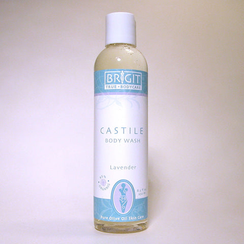NOW: NOP certified - Castile Body Wash Lavender (8.5  fl. oz.)