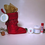 Gift Bag - Holiday Bootie 'Floral'