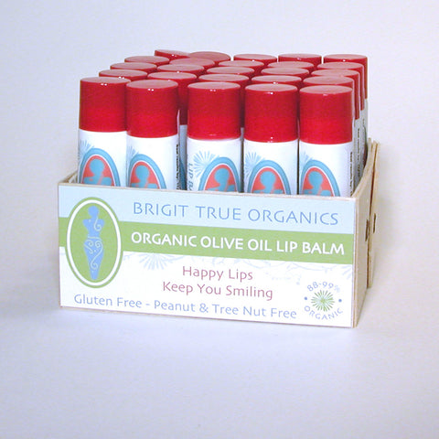 Lip Balm Red- Box of 25
