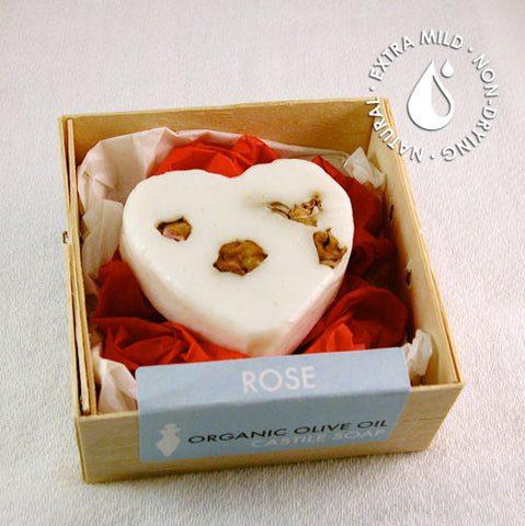 Bar Soap Rose Heart (1.4 oz.)
