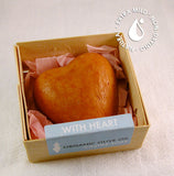 "Exfoliating Hand Soap ""With Heart"" Large (2.9 oz.)"