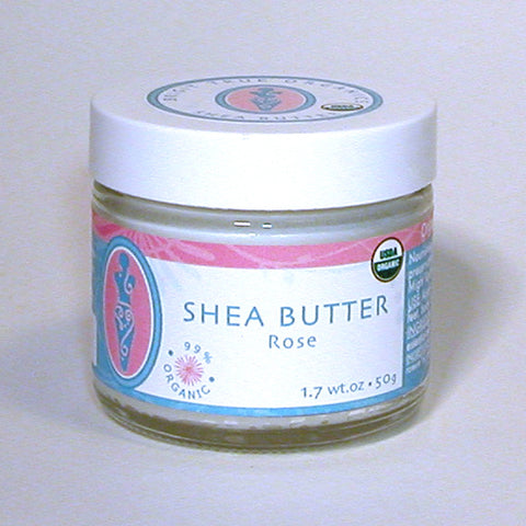NOW: NOP certified - Shea Butter Rose (1.7 oz.)