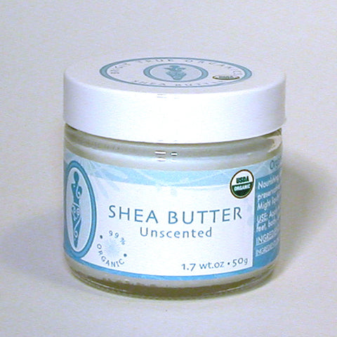 NOW: NOP certified - Shea Butter Unscented (1.7 oz.)
