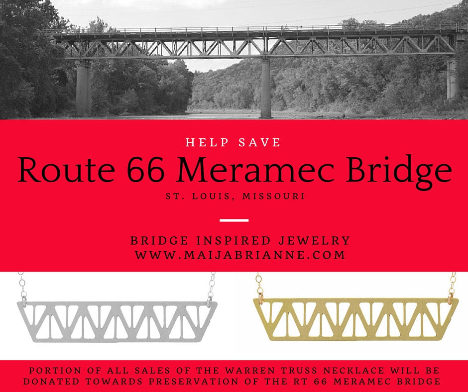 Jewelry for a Cause – Supporting the Historic Route 66 Meramec Bridge