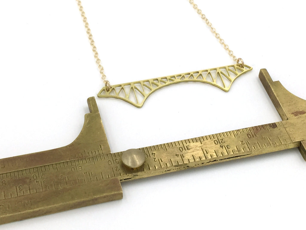 Cantilever Bridge Necklace