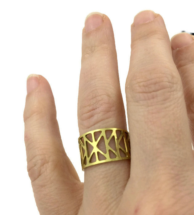 Brass Bridge Rings