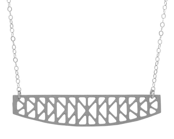 K-Truss Bridge Necklace