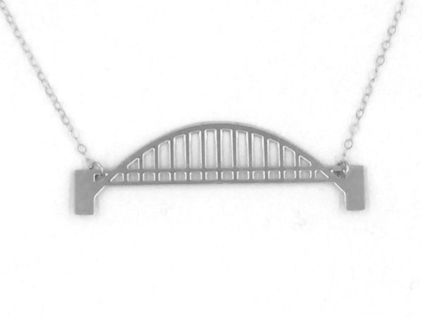 Tied Arch Bridge Necklace