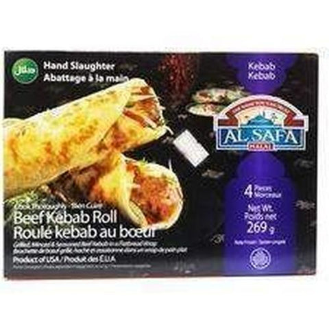 Al Safa Beef Kebab Roll 4 pieces 269g-Frozen Pastries (Ethnic)-Al Safa-Swiftyz