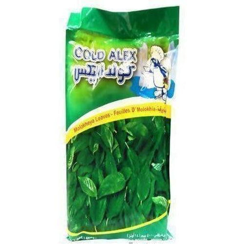 Cold Alex Molokheya Leaves 400g-Frozen Vegetables (Ethnic)-Cold Alex-Swiftyz
