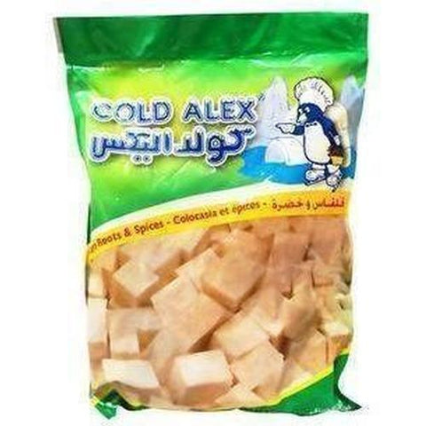 Cold Alex Taro Roots & Spices 400g-Frozen Vegetables (Ethnic)-Cold Alex-Swiftyz