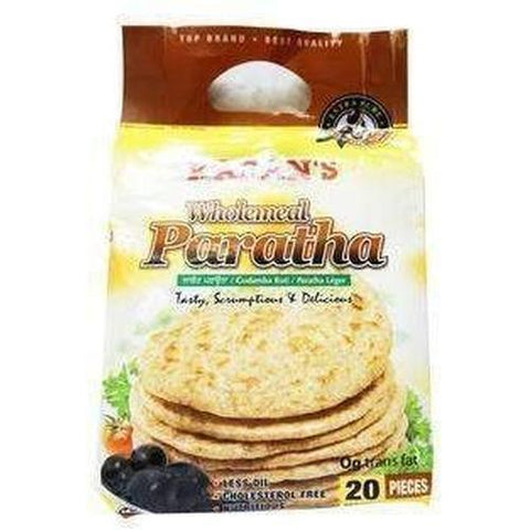 Karan's Wholemeal Paratha 20 pieces-Frozen Pastries (Ethnic)-Karan's-Swiftyz