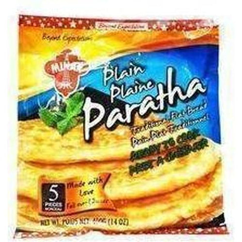 Minar Paratha 5 pieces 400g-Frozen Pastries (Ethnic)-Minar-Swiftyz